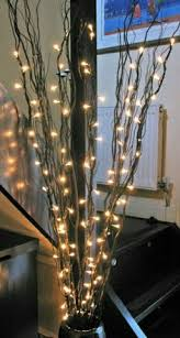 how many feet of christmas lights for 7 foot tree 7 feet tall led lighted curly willow branch natural plug in with