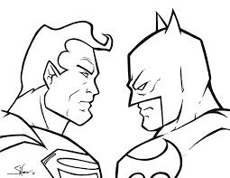 superman v batman sketch by shane derek on deviantart