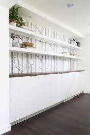 chunky floating wall shelf