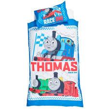 thomas u0026 friends rail race quilt cover set