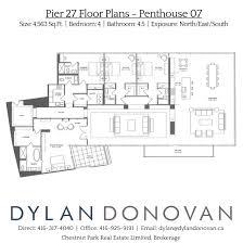 pier 27 toronto floor plans
