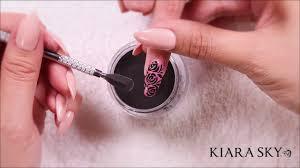 sugar nail art tutorial with dip powder youtube