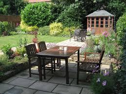 Patio Garden Designs by Colourful Patio Garden Dewsbury