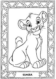 lion king coloring print lion king pictures color