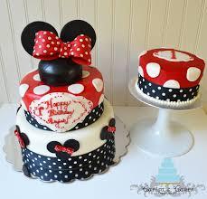 carisa u0027s cakes minnie mouse birthday