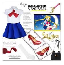 Halloween Costumes Sailor Moon Sailor Lingerie Costume 28 Brl Polyvore Featuring
