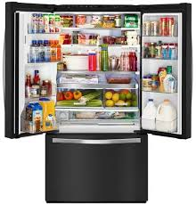 Whirlpool Inch French Door Refrigerator - whirlpool wrf992fife 36 inch french door refrigerator with