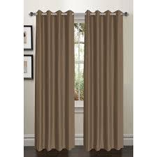 Grommet Curtains Bella Luna Bliss Solid Room Darkening Thermal Grommet Curtain