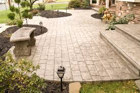 Stamped Patio Designs by Stamped Concrete Designs In Perfect Finishing U2014 Home Ideas Collection