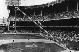 yankee stadium home run lights a half century later mickey mantle blast right off the bat
