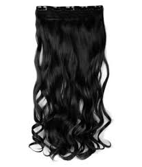 Curly Fusion Hair Extensions by Majik For Women U0026 Girls Curly Fusion Hair Extension Black Buy