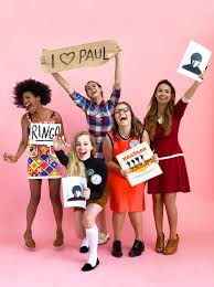 beatlemania group costume costumes beatles and group