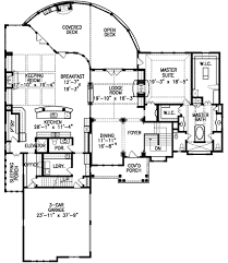 mountain lodge floor plans mountain lodge with elevator 15812ge architectural designs