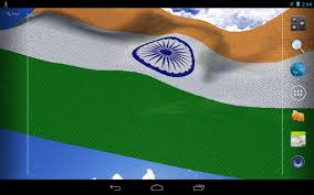 The Flag Of India 3d India Flag Live Wallpaper Android Apps On Google Play