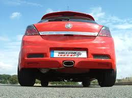 opel astra 2005 red vauxhall opel astra mk5 vxr 2 0 turbo milltek exhaust