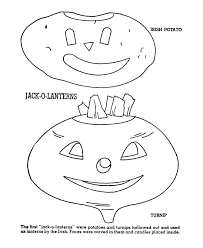 halloween coloring page sheets vegetable jack o lanterns