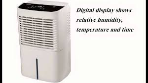 whirlpool energy star 70 pint 2 speed dehumidifier info youtube