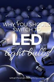 Energy Efficient Led Light Bulbs by The Benefits Of Led Light Bulbs Small Footprint Family