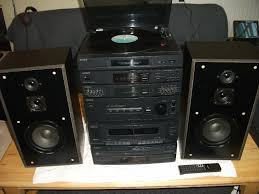 sony home theater amplifier sony lbt d 159 stereo system speakers amp turntable in norwich