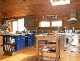 72 log cabin kitchen ideas