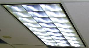 Flat Led Ceiling Lights by Fluorescent Lighting Fluorescent Light Fixture Parts Cover