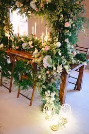 Indoor Garden by Spring Indoor Garden Wedding Inspiration Ruffled