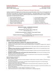 entry level contract specialist resume resume for your job