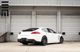 porsche sedan white white porsche panamera 22 u0027 u0027 vmb5 velgen wheels