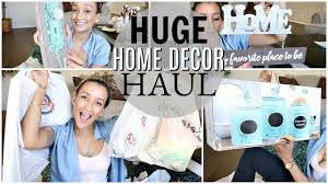 big farmhouse home decor haul youtube