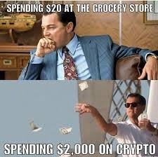 Grocery Meme - literally ethtrader