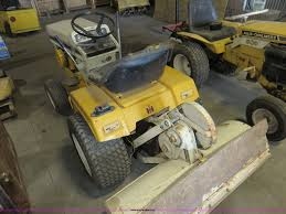 international 129 cub cadet garden tractor item bm9957 s