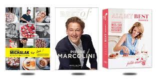 livre de cuisine michalak 9 livres gourmands goûtés et approuvés magazine exquis