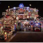 huge christmas lights display cool christmas light displays in