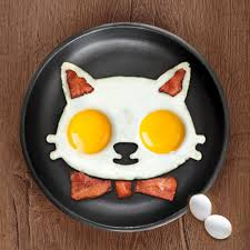 aliexpress com buy non stick cute silicone fried egg molds