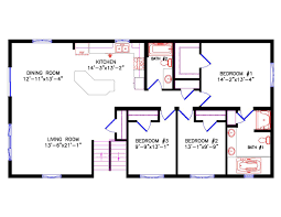 bedroom plan cottage floor plans 3 2 bath kevrandoz