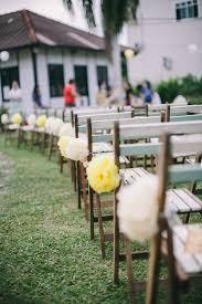 Vintage Backyard Wedding Ideas by A Yellow Country Vintage Wedding At Lotta Café Muar Muar