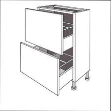 meuble cuisine profondeur noir et blanc cuisine astuce avec meuble cuisine meuble bas faible
