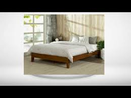 Wooden Platform Bed Frame Watch This Before Buying Zinus 12 Inch Deluxe Solid Wood Platform