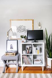 Ikea Tv Furniture 3 Ways To Style And Use Ikea U0027s Kallax Expedit Shelf The Everygirl