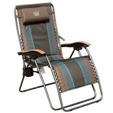 Padded Lawn Chairs Timber Ridge Oversized Xl Padded Zero Gravity Chair Supports