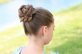 flower hair bun how to create a 3d flower braid updos hairstyles