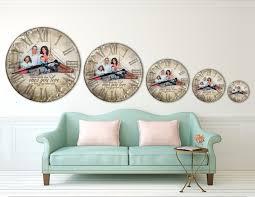 Clock Made Of Clocks by Custom Made Photo Clocks