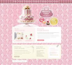 wedding cake websites wedding cake website template 27847
