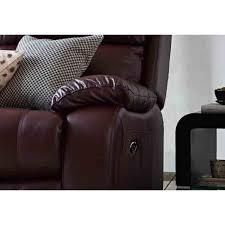moreno leather recliner chair furnico village
