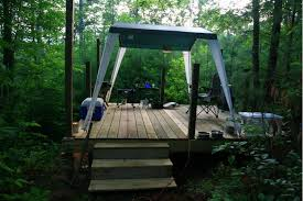 tent platform tent platforms small cabin forum