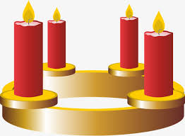 advent wreath candles four candles advent wreath candle atmosphere png image and
