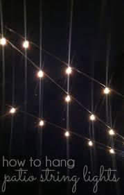 How To Hang Patio Lights 1000 Ideeën Over How To Hang Patio Lights Op Pinterest