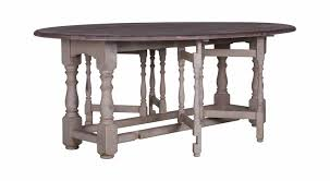 traditional table wooden oval extending gateleg flamant