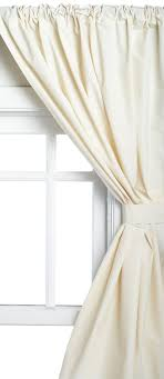 36 X 45 Curtains Carnation Home Fashions Vinyl Bathroom Window Curtain