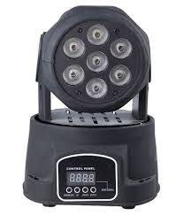 moving head light price india beast deal 100w led dj mini moving head light black buy beast deal